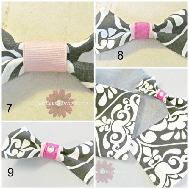 DIY Crafts Fashion Fabric hair bow No sewing Required