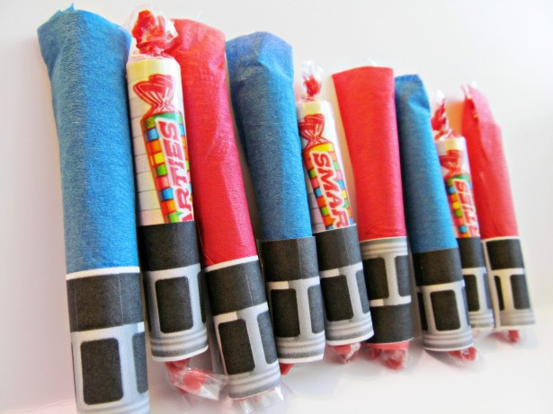 Top posts of 2012 Smarties Lightsaber Halloween Craft Tutorial #IAmASmartie