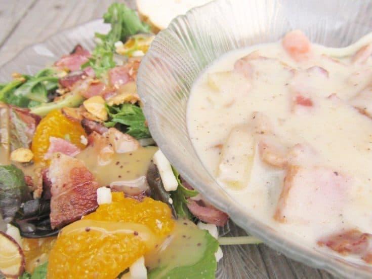 Baking with Bacon Creamy Bacon & Potato Soup Recipe #MealsTogether