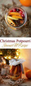 Homemade Christmas Potpourri Simmer Pot Recipe Natural Air Freshener