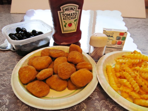 Kids Crafts Holiday Tyson Chicken Nuggets Creative Food Ideas
