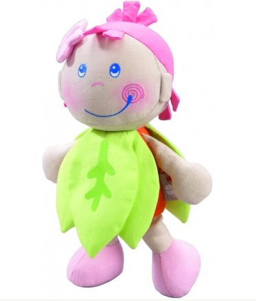Haba Pure Nature Doll Leafy Girl Organic Cotton Doll for Girls