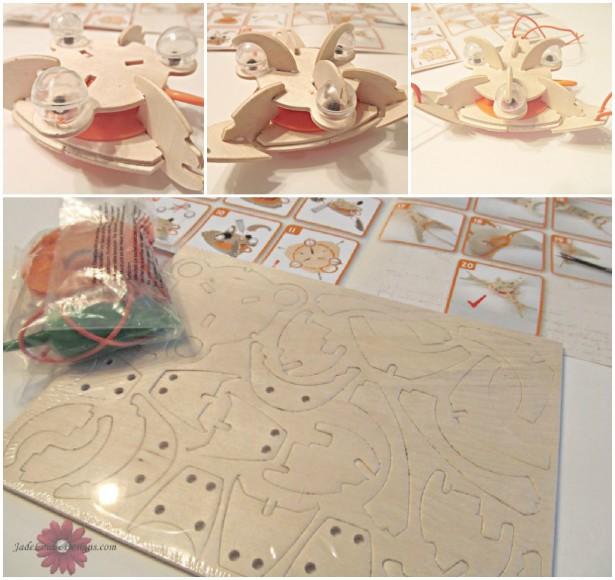 Haba Terra Kids Assembly Kit Twirling Prawn Kids Toy