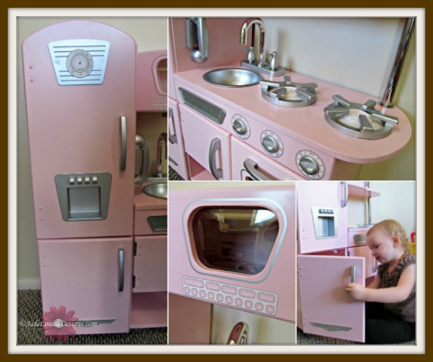 Vintage Kitchen By Kidkraft: Kidkraft Kitchen Pink Vintage Encourages Pretend Play #holidaygiftguide