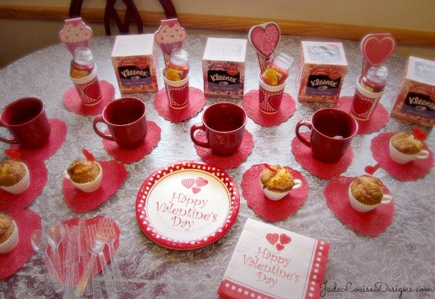 Ladies Day In Party Ideas, and Tea Party Planning with Kleenex® and #SharetheSoft