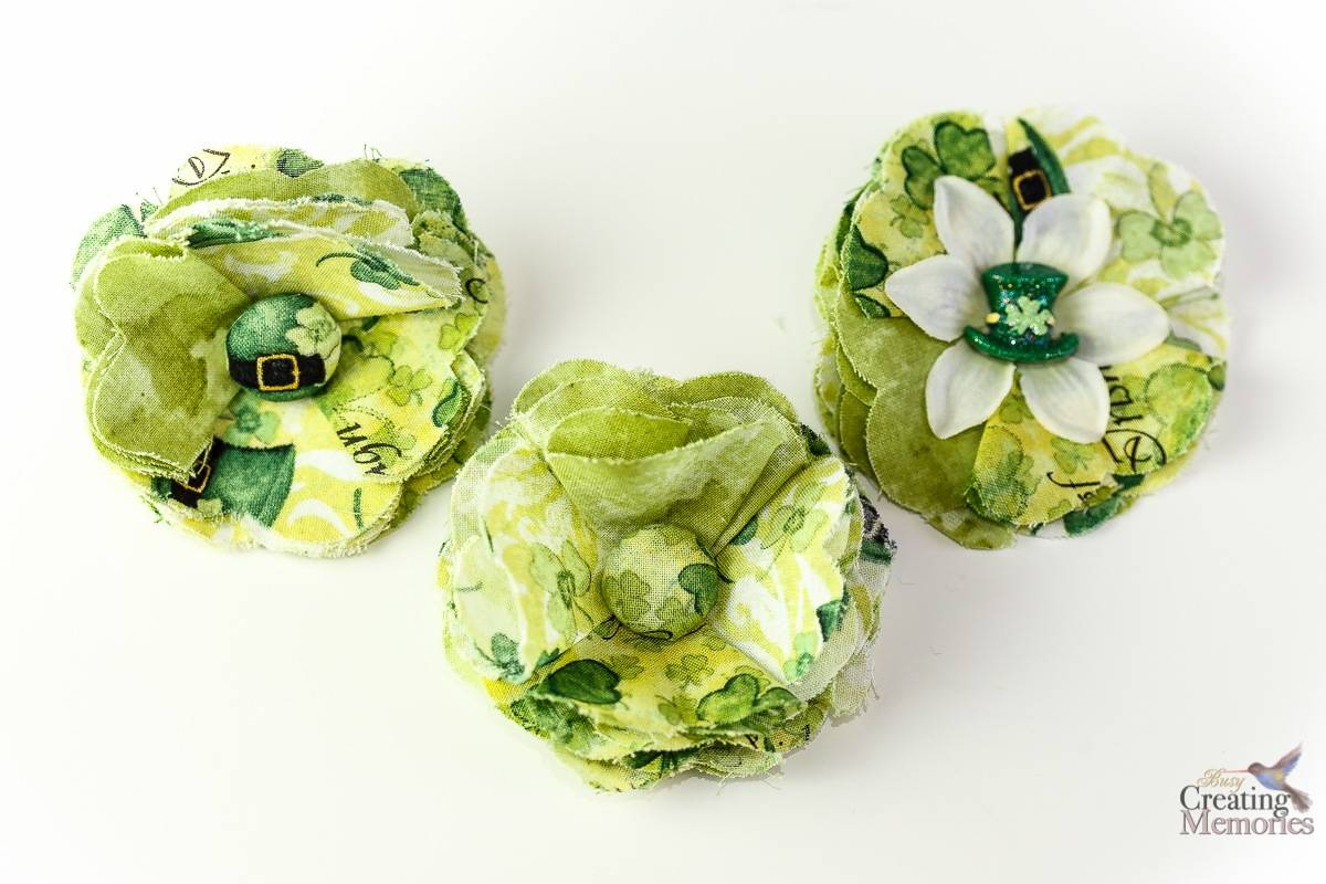 Diy Fabric Flowers Tutorial How To Make A Shabby Chic Fabric Posy Flower