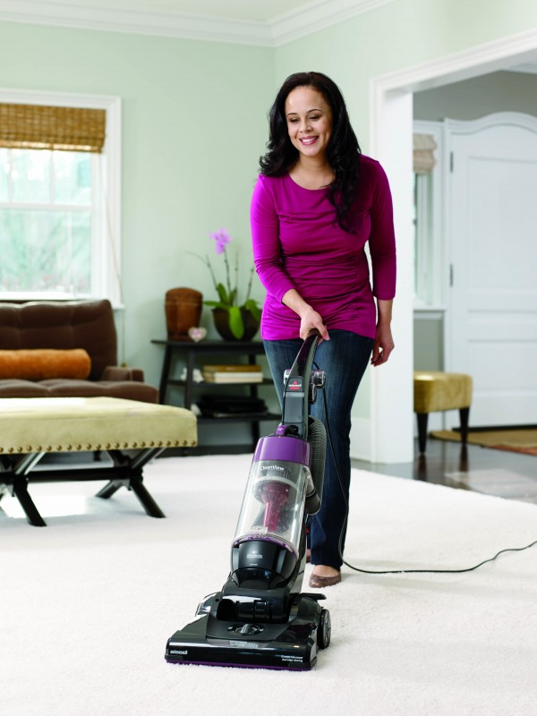cleaning tips save time vacuuming with bissell cleanview vacuum with one pass technology - Bissell Vacuums