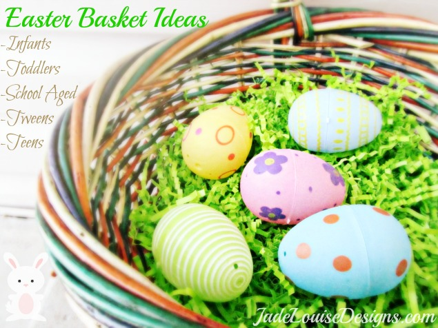 Easter basket ideas for kids of all ages baby through teenagers negle Images