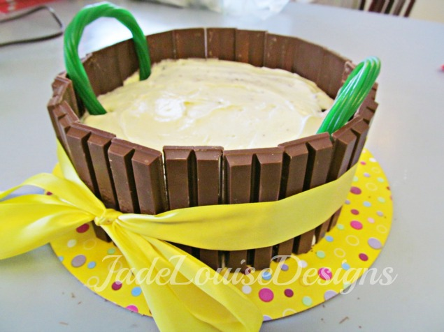 Easter Kit Kat Cake tutorial; Fun Easter Baking with Kids
