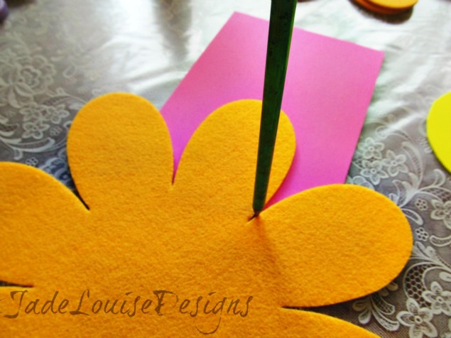 I love you Because Mothers Day Craft flowers for Kids to create