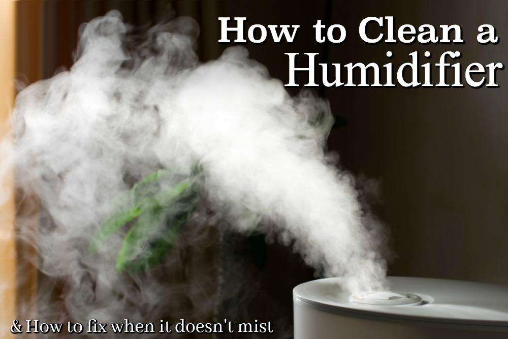 How To Clean A Humidifier Amp What To Do When The Humidifier