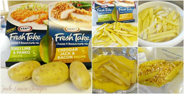 Homemade Easy recipes; Homemade Chicken Nuggets and Gourmet Fries with Kraft Fresh Take
