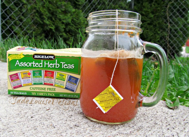 Not Your Average Bigelow Herbal Tea Recipes, Raspberry Mint Lemonade and Sore Throat Fighting Lemon Honey Herbal Tea #AmericasTea