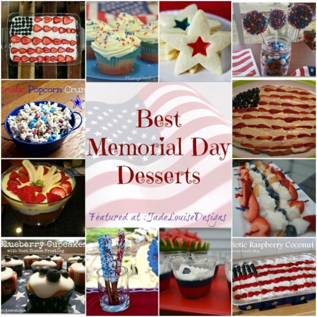 Memorial Day Recipes; Top Memorial Day Desserts