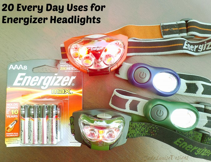 Over 20 Everyday uses of the Energizer Beam Headlights, More than just for camping! #LightMyWay #Shop