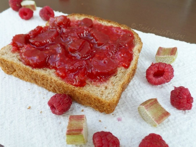 Raspberry Rhubarb Jam Recipe | Food Storage Series