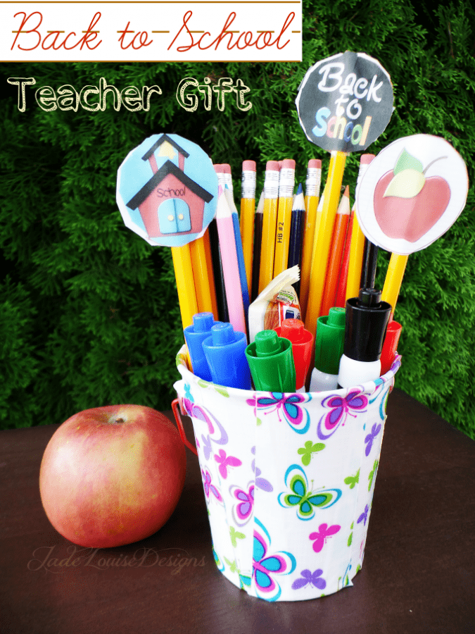 Back to School Gift, A simple DIY Teacher gift for Back to School