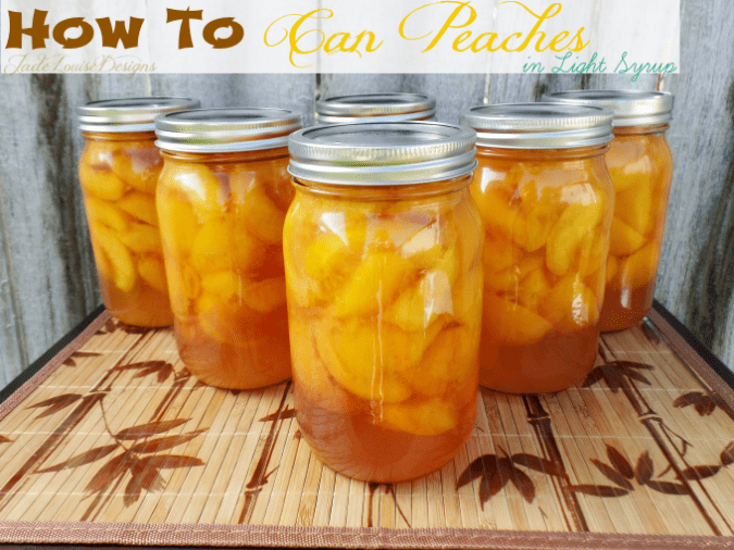 How to can Peaches | Food Storage Series