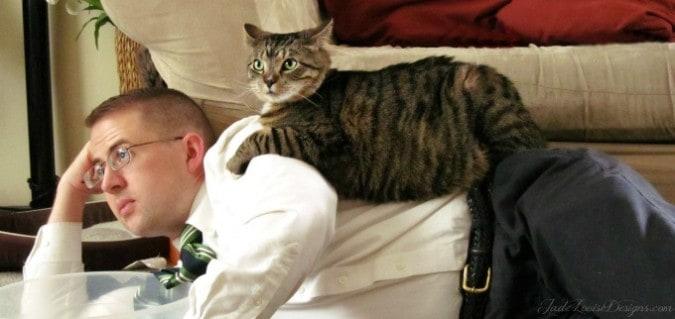 نتيجة بحث الصور عن cat and owner