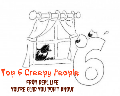 6 Creepy People You're Glad You Don't Know Halloween tales Part 1