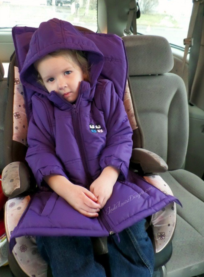 Seat Safety with Winter Coats; How to Keep Kids warm while ...