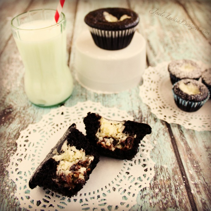 Black Bottom Cupcakes Recipe featuring LifeOiL, Delicious Holiday cupcake recipes!