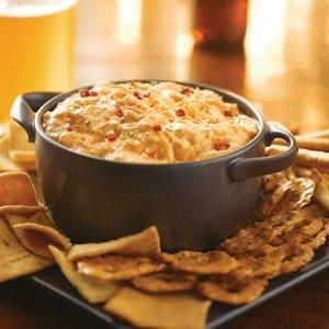 Blue Cheese Buffalo Chicken Dip Recipe #FranksRH