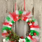 Christmas Wreath Tutorial | Tutu Wreath Craft