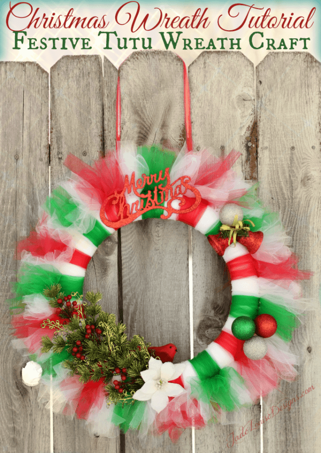 Christmas Wreath Tutorial