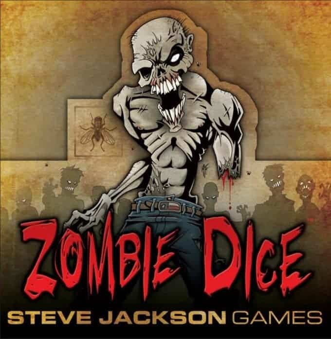 Zombie Dice Review, Top Dice game from Steve Jackson Games