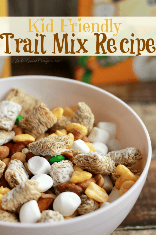 Easy Snack Ideas + Kids trail mix recipe to combat the Fast Food Urge #greatstarts