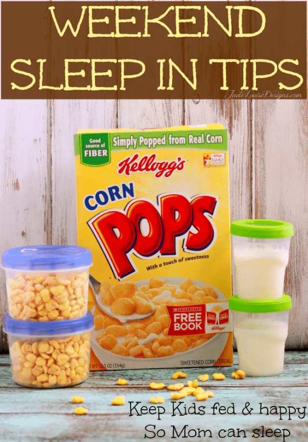 Sleep In Tips from fellow Moms; How to catch a few extra minutes of sleep on weekends #greatstarts