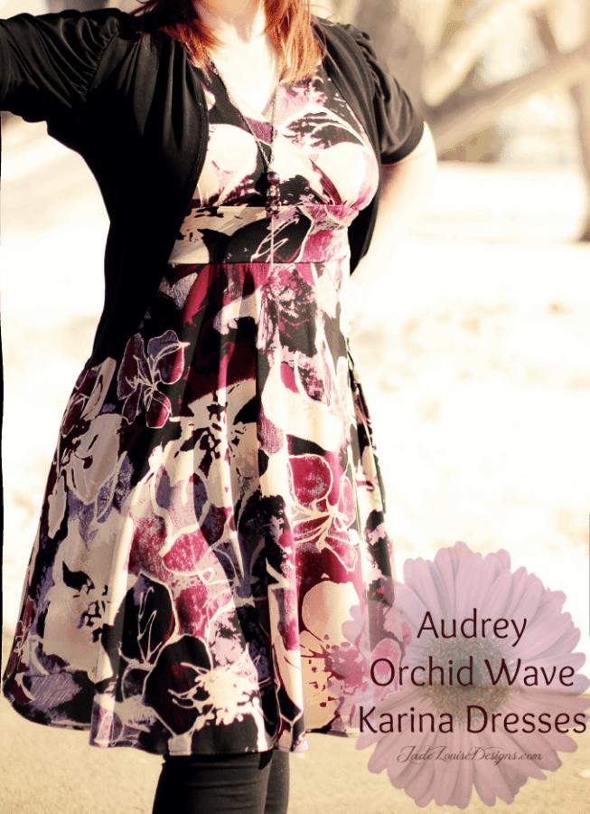 Splash of Purple Audrey Sleeveless Dress by Karina Dresses #Dresstacular
