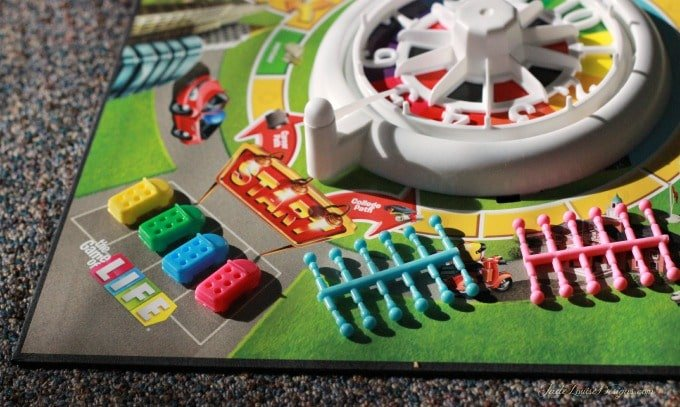 The NEW Game of Life by Hasbro; Enjoy a fresh look to the Family Game night Classic.