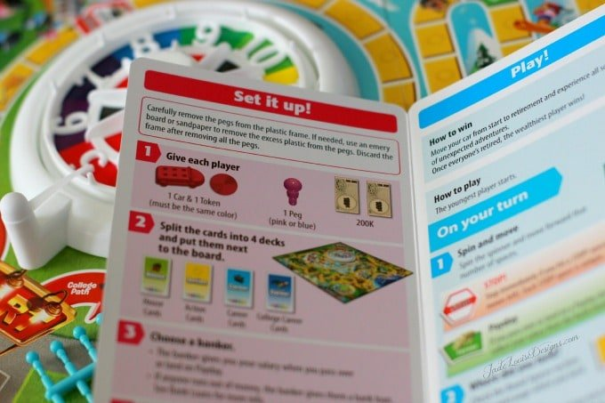 Instructions For The Game Of Life 2013