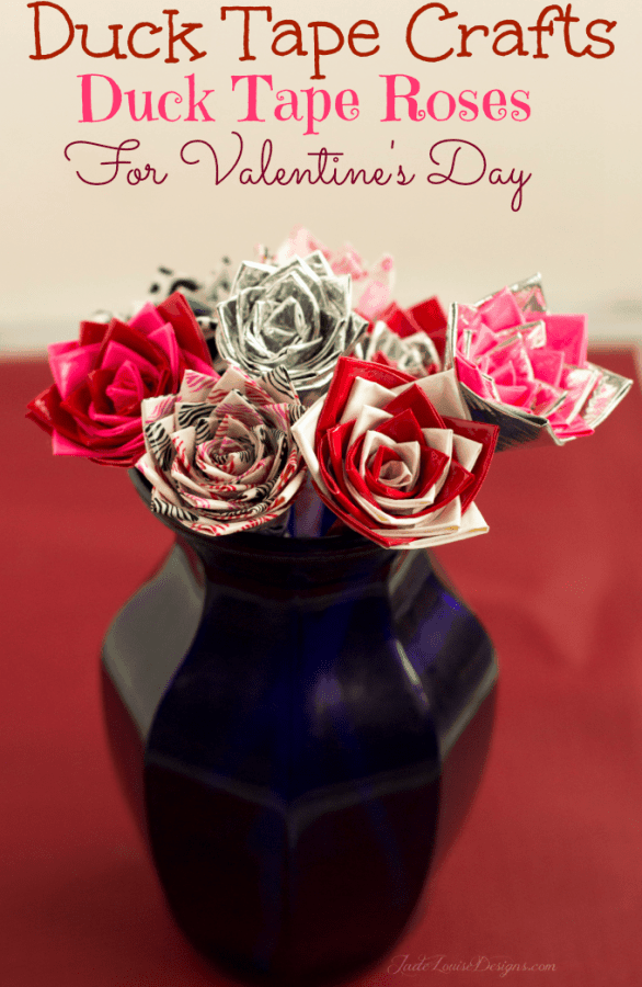 How to make Duck Tape Roses Duck Tape Crafts