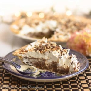Chocolate Coconut Cream Pie Recipe! Indulge in a Slice of Pie for National Pi Day.