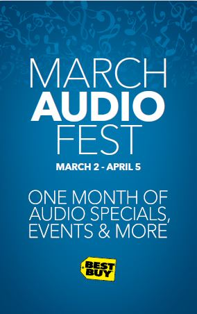 Shop early for Father's Day! Audio Fest happening now at Best Buy