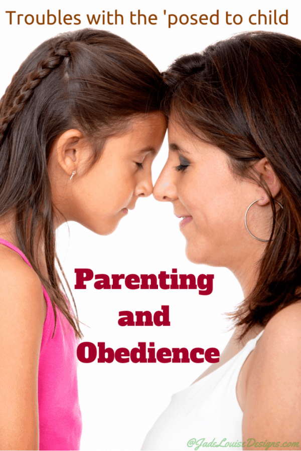 Parenting and Obedience: Troubles with the 'posed to child, why you don't want the most obedient child.