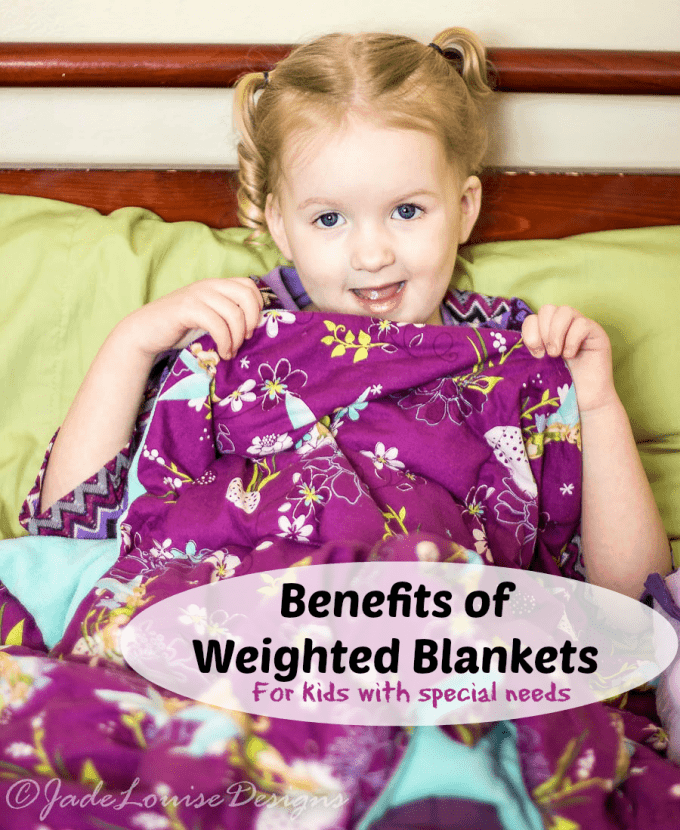 Benefits of Weighted Blanket for kids with needs
