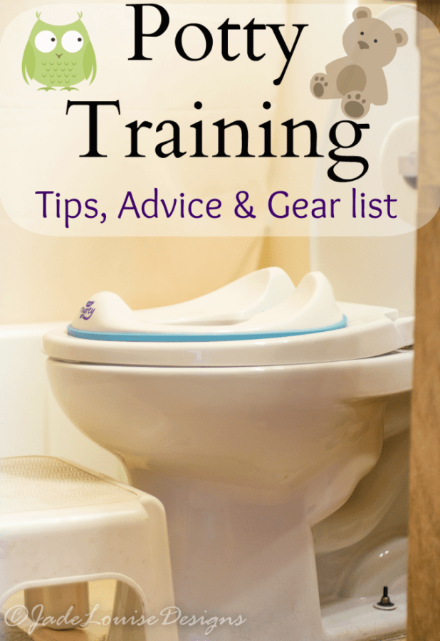 Potty Training Tips, Supplies and advice.