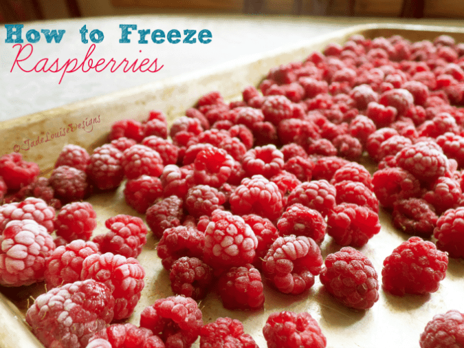How to Freeze Raspberries | Food Storage Series
