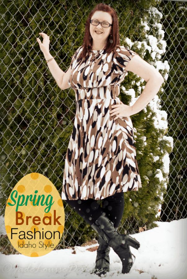 Spring Break Fashion; Idaho Style with Karina Dresses