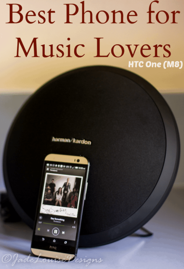 HTC One is The perfect Music Lovers perfect Phone #SprintMom