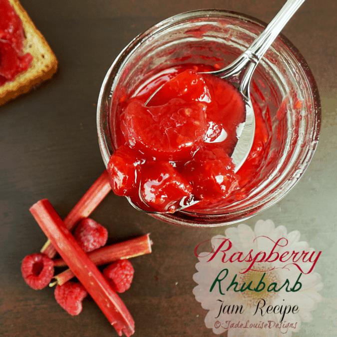 Raspberry Rhubarb Jam Recipe