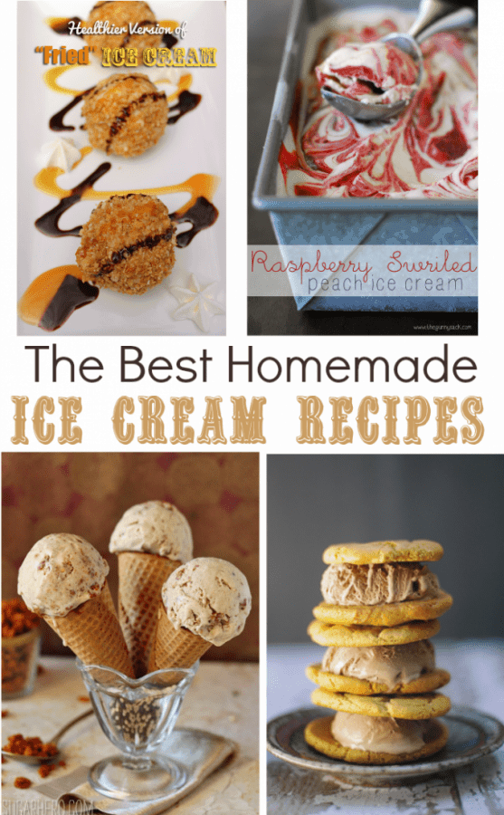 Top homemade ice cream recipes for the summer