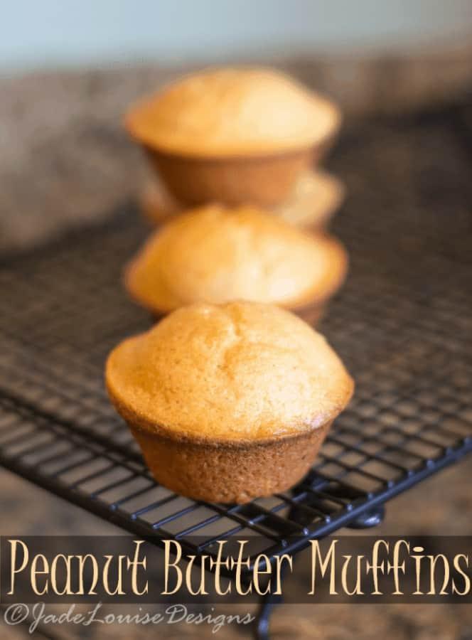 Peanut Butter Muffins Recipe; Family friendly Breakfast Recipe