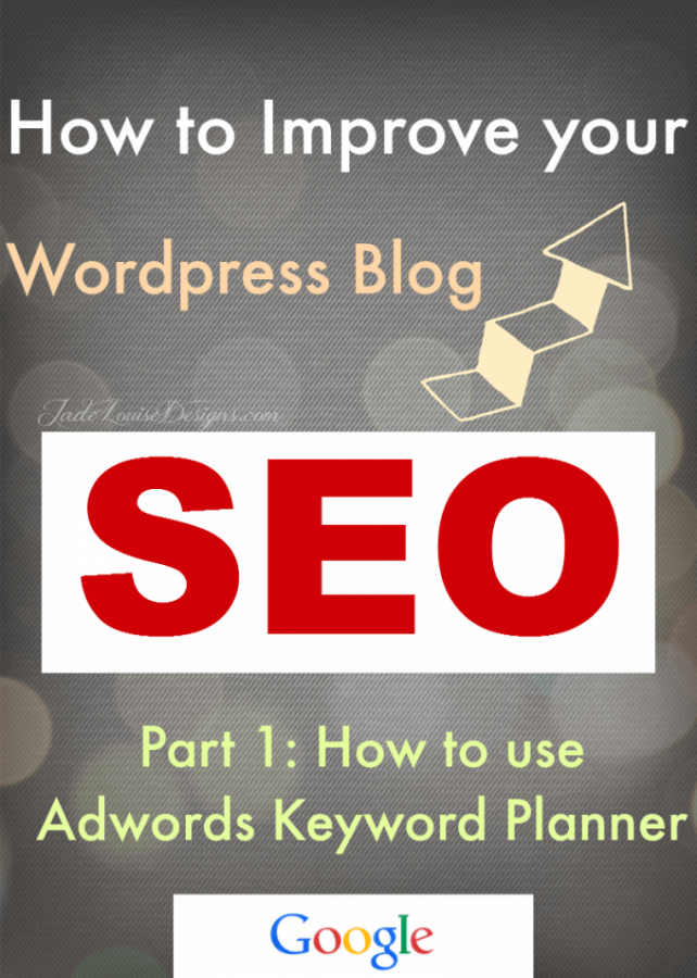 How To Use Adwords Keyword Planner Part 1