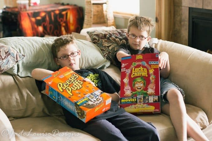 Family Movie Night with Big G Cereal Movies #biggcerealmovies