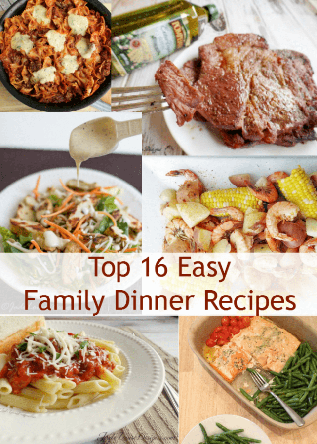 Easy Dinner Recipes for the family